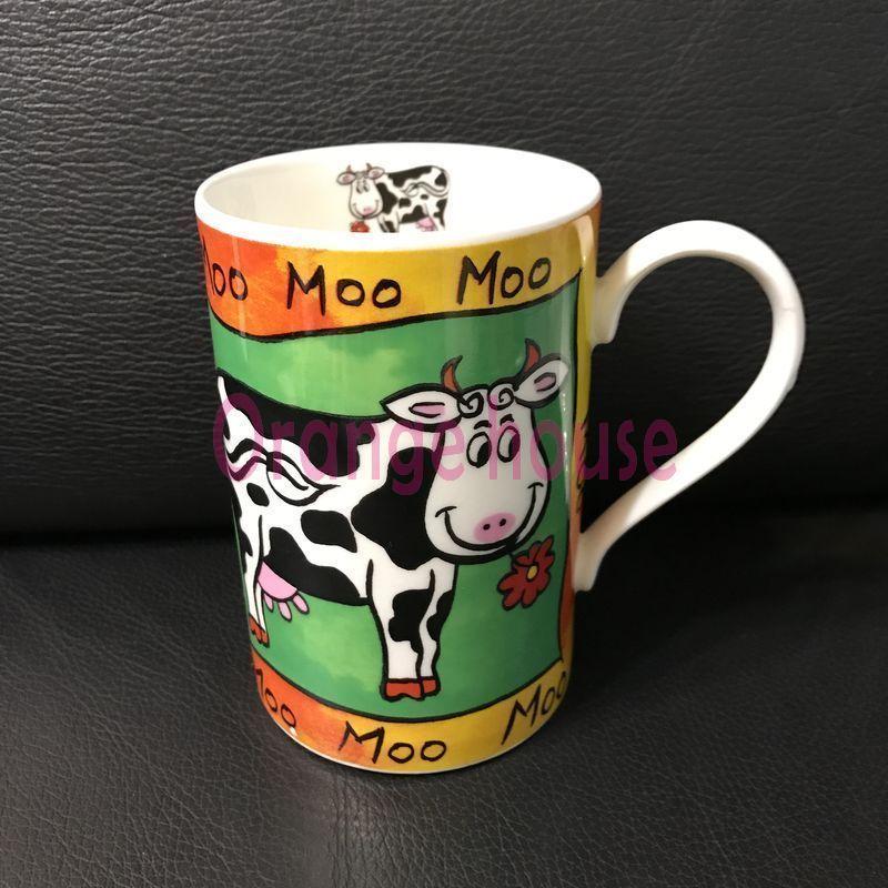 趣味農場乳牛馬克杯